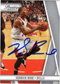 DERRICK ROSE AUTOGRAPHED ROOKIE BASKETBALL CARD #41812G