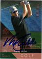 NICK FALDO AUTOGRAPHED & NUMBERED GOLF CARD #41712E