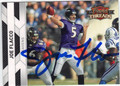 JOE FLACCO BALTIMORE RAVENS AUTOGRAPHED FOOTBALL CARD #41913G