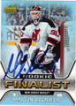 MARTIN BRODEUR AUTOGRAPHED HOCKEY CARD #42012C