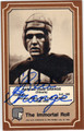 HAROLD RED GRANGE AUTOGRAPHED VINTAGE FOOTBALL CARD #42013J