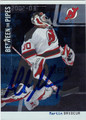 MARTIN BRODEUR AUTOGRAPHED HOCKEY CARD #42212i