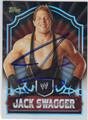 JACK SWAGGER AUTOGRAPHED WRESTLING CARD #42213K