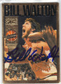 BILL WALTON PORTLAND TRAIL BLAZERS AUTOGRAPHED BASKETBALL CARD #42313E