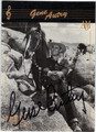 GENE AUTRY AUTOGRAPHED CARD #42713A