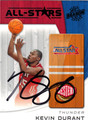KEVIN DURANT AUTOGRAPHED BASKETBALL CARD #42812B
