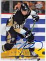 TYLER KENNEDY PITTSBURGH PENGUINS AUTOGRAPHED HOCKEY CARD #42713E