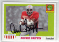 ARCHIE GRIFFIN OHIO STATE BUCKEYE AUTOGRAPHED FOOTBALL CARD #42813B