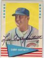 GABBY HARTNETT CHICAGO CUBS AUTOGRAPHED VINTAGE BASEBALL CARD #43013D