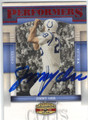 JIMMY ORR BALTIMORE COLTS AUTOGRAPHED FOOTBALL CARD #50213H