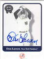 DON LARSEN AUTOGRAPHED BASEBALL CARD #50411B