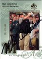 MARK CALCAVECCHIA AUTOGRAPHED & NUMBERED GOLF CARD #50312E