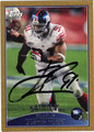 JUSTIN TUCK AUTOGRAPHED & NUMBERED FOOTBALL CARD #50612J
