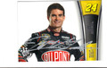 JEFF GORDON AUTOGRAPHED NASCAR CARD #50613B