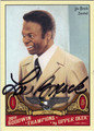 LOU BROCK ST LOUIS CARDINALS AUTOGRAPHED BASEBALL CARD #50713J