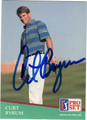 CURT BYRUM AUTOGRAPHED GOLF CARD #50813F