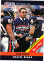 MIKE DITKA AUTOGRAPHED FOOTBALL CARD #50912K