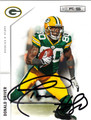 DONALD DRIVER AUTOGRAPHED FOOTBALL CARD #51112B