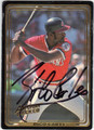 RICO CARTY CLEVELAND INDIANS AUTOGRAPHED BASEBALL CARD #51413D