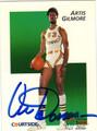 ARTIS GILMORE AUTOGRAPHED BASKETBALL CARD #51811i