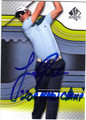 JUSTIN ROSE AUTOGRAPHED GOLF CARD #52113F
