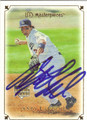 ANDY LaROCHE LOS ANGELES DODGERS AUTOGRAPHED ROOKIE BASEBALL CARD #52113G