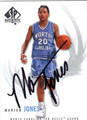 MARION JONES AUTOGRAPHED BASKETBALL CARD #52212R