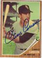 CAMILO CARREON CHICAGO WHITE SOX AUTOGRAPHED VINTAGE BASEBALL CARD #52213E