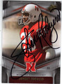 JOHNNY RODGERS NEBRASKA CORNHUSKERS AUTOGRAPHED FOOTBALL CARD #52313G