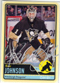 BRENT JOHNSON PITTSBURGH PENGUINS AUTOGRAPHED HOCKEY CARD #52413A