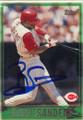 Reggie Sanders Autographed Baseball Card 533