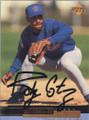 Ricky Gutierrez Autographed Baseball Card 542