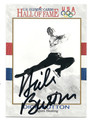 DICK BUTTON AUTOGRAPHED CARD #5525