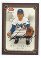JEFF TORBORG AUTOGRAPHED CARD #5560
