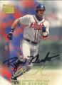 Ryan Klesko Autographed Baseball Card 584
