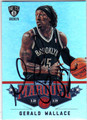 GERALD WALLACE BROOKLYN NETS AUTOGRAPHED BASKETBALL CARD #60413A