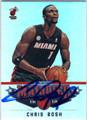 CHRIS BOSH MIAMI HEAT AUTOGRAPHED BASKETBALL CARD #60213B