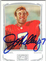 JOHN ELWAY DENVER BRONCOS AUTOGRAPHED FOOTBALL CARD #60213J
