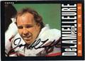 JOE DeLAMIELLEURE CLEVELAND BROWNS AUTOGRAPHED FOOTBALL CARD #60313B