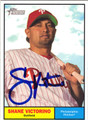 SHANE VICTORINO AUTOGRAPHED BASEBALL CARD #61212C