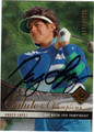 NANCY LOPEZ AUTOGRAPHED & NUMBERED GOLF CARD #61112E