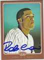 ROBINSON CANO NEW YORK YANKEES AUTOGRAPHED BASEBALL CARD #61313G