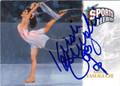 KRISTI YAMAGUCHI AUTOGRAPHED FIGURE SKATING CARD #61812J