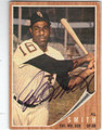 AL SMITH CHICAGO WHITE SOX AUTOGRAPHED VINTAGE BASEBALL CARD #62013C