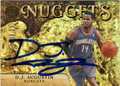 DJ AUGUSTIN AUTOGRAPHED & NUMBERED BASKETBALL CARD #62212G