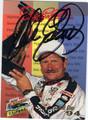DALE EARNHARDT SR AUTOGRAPHED NASCAR CARD #62911A