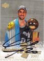MANU GINOBILI SAN ANTONIO SPURS AUTOGRAPHED BASKETBALL CARD #70213A