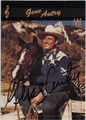 GENE AUTRY AUTOGRAPHED CARD #70713E