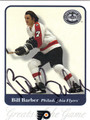 BILL BARBER AUTOGRAPHED HOCKEY CARD #71013B