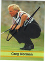 GREG NORMAN AUTOGRAPHED GOLF CARD #70912D